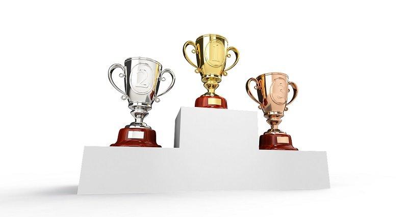 Trofeum i podium