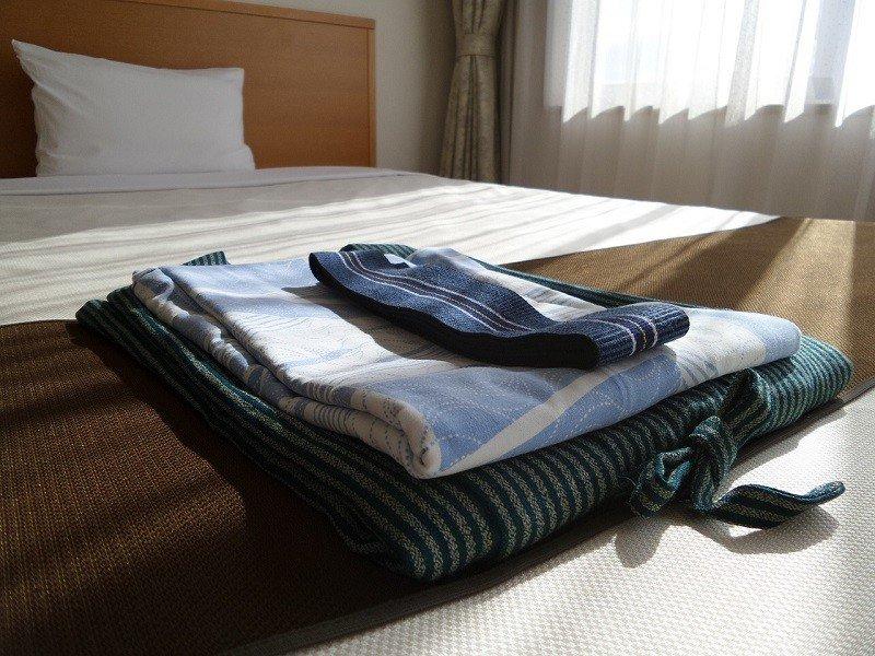 Łóżko w obiekcie noclegowym