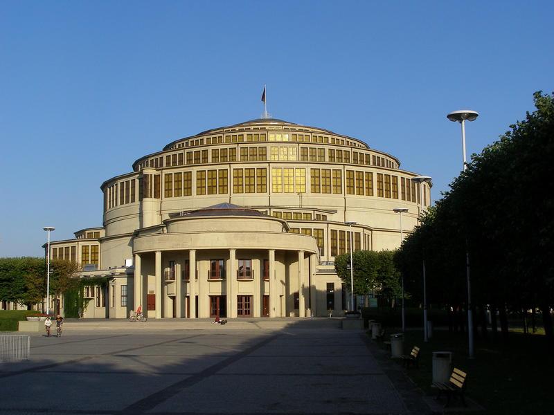 Budynek Hali Stulecia