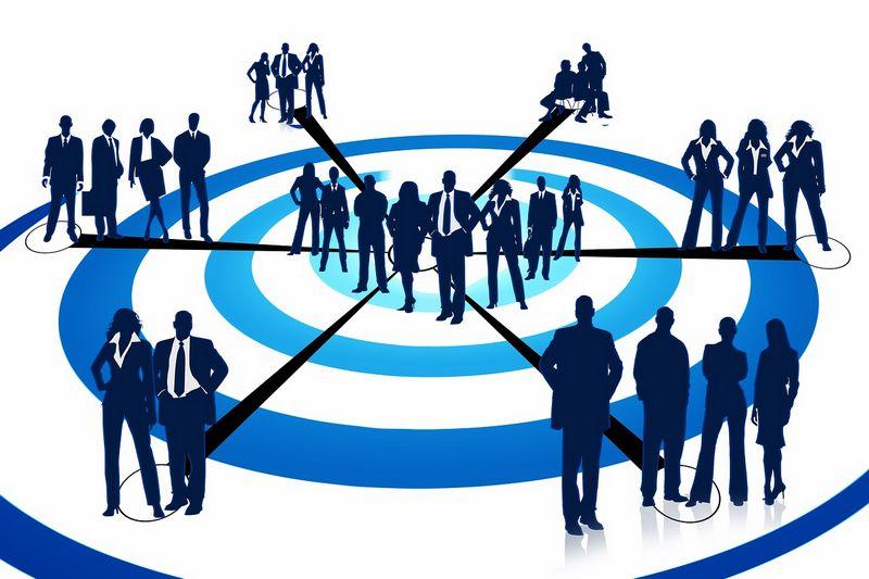 Sieć powiązań pomiędzy pracodawcami a pracownikami