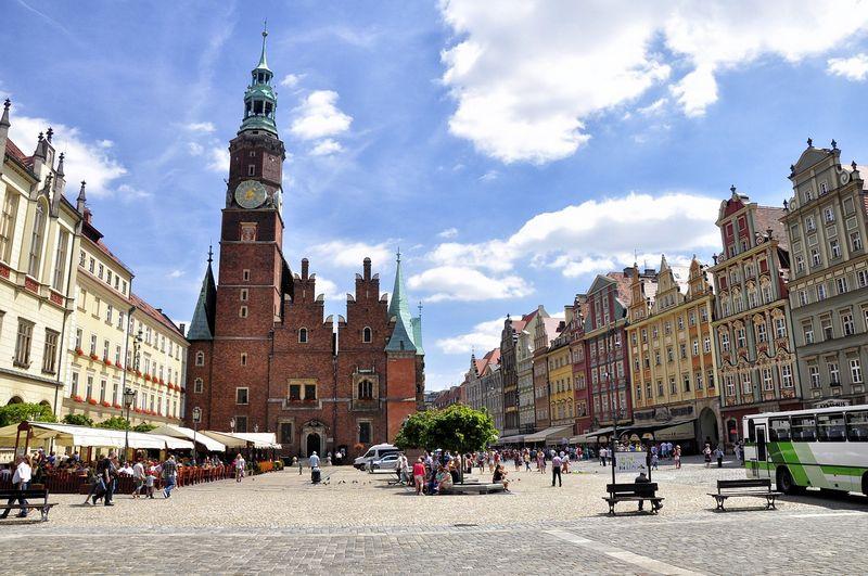 Stare miasto i Rynek w Mieście Stu Mostów