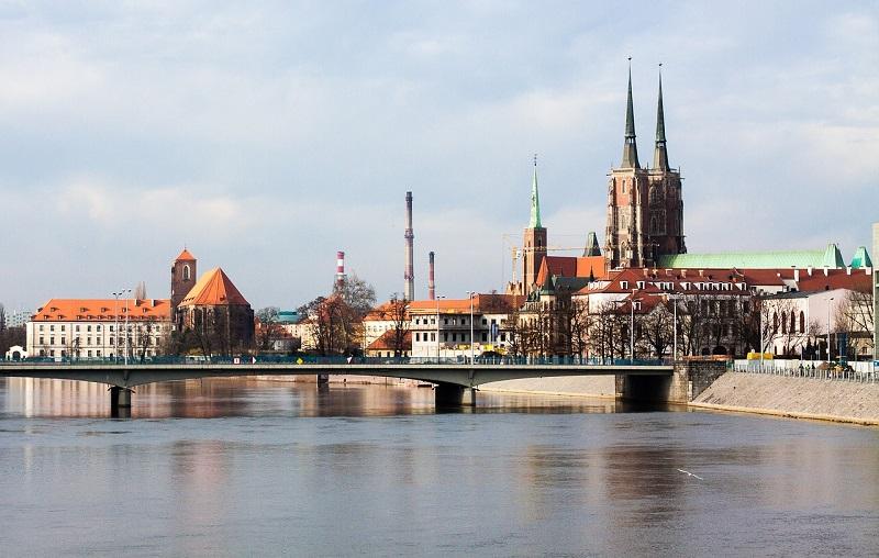 Zabytki Wrocławia z Hostelem Trzy Kolory
